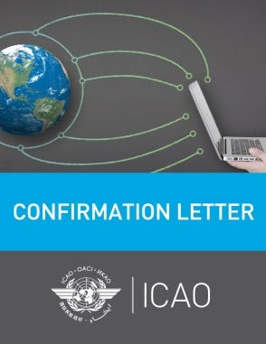 3LD and Telephony Designator (Confirmation Letter)