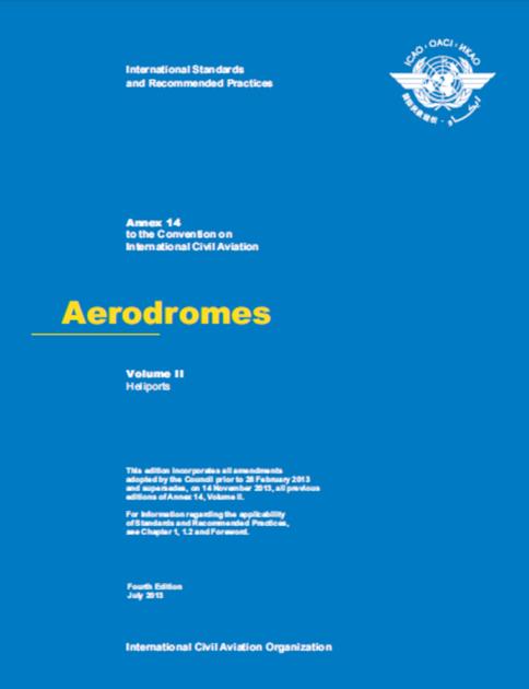 Annex 14 - Aerodromes - Volume II - Heliports