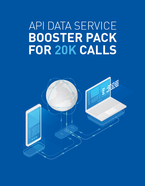 ICAO API Service Plans - Booster Pack for 20K Calls