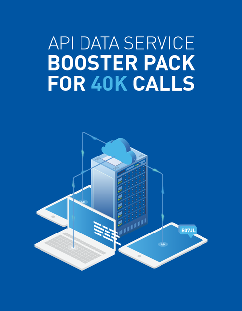ICAO API Service Plans - Booster Pack for 40K Calls