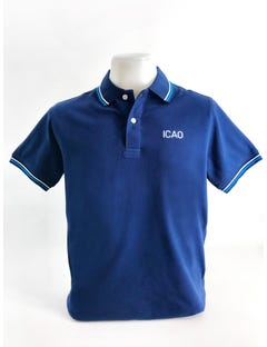Polo shirt with ICAO logo (Unisex)
