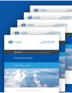ICAO Annexes to the Convention on International Civil Aviation (One-Year Subscription)