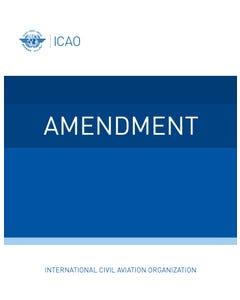 Procedures for Air Navigation Services (PANS) - Air Traffic Management (Doc 4444) (Amendment 9 dated 5/11/20)