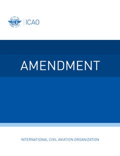 Annex 3 - Meteorological Service for International Air Navigation (Amendment no. 79 dated 20/07/20)