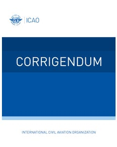 Procedures for Air Navigation Services (PANS) - Aircraft Operations - Volume II Construction Of Visual and Instrument Flight Procedures (Doc 8168)  (Corrigendum no. 1 dated 20/11/20)