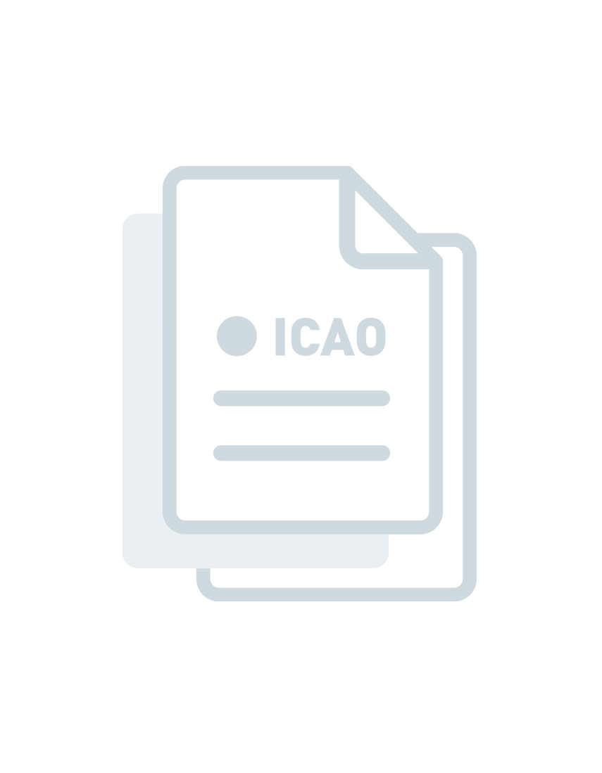 Reference Manual On The Icao Statistics Programme 5Th Edition - 2013 (Doc 9060)  - ENGLISH - Printed
