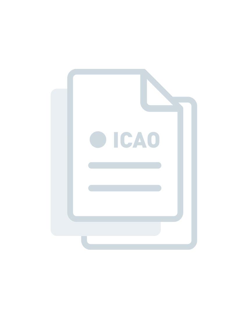 Manual de métodos para la observación y la información del alcance visual en la pista. - SPANISH - Printed