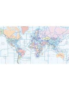 ICAO Flight Information Regions (FIR) - Enterprise Edition reduce points
