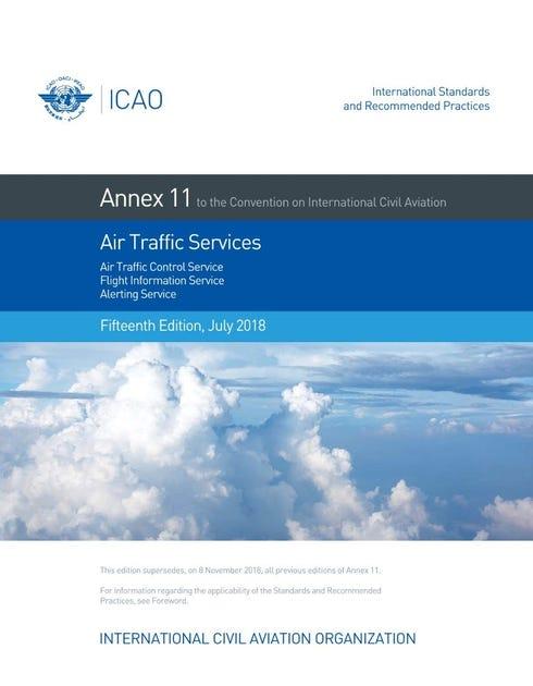 Annex 11 - Air Traffic Services