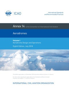 Annex 14 - Aerodromes - Volume I - Aerodromes Design and Operations