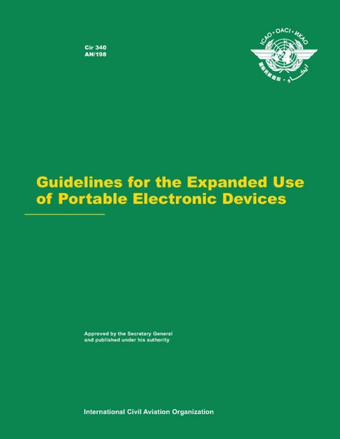 Guidelines for the Expanded Use of Portable Electronic Devices (CIR 340)