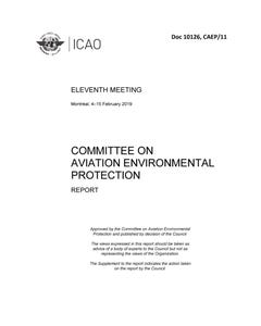 Committee on Aviation Environmental Protection Report (Doc 10126)