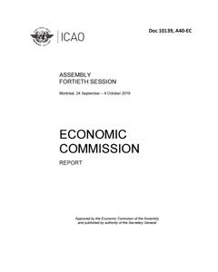 Assembly - Report of the Economic Commission (Doc 10139)