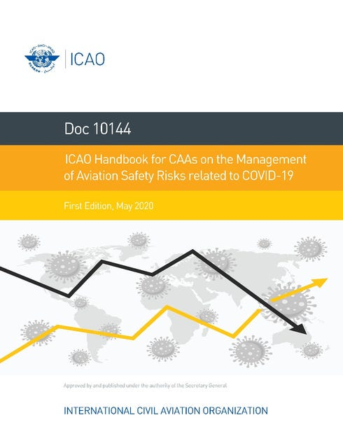ICAO Handbook for CAAs on the Management of Aviation Safety Risks related to COVID-19 (Doc 10144)