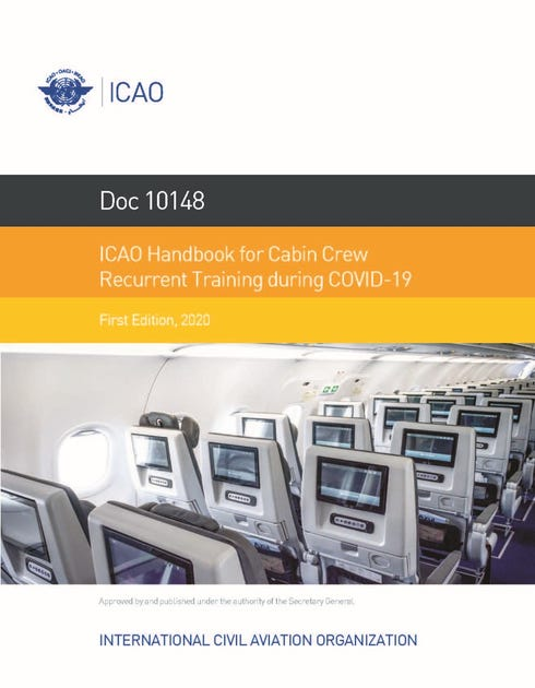 ICAO Handbook for Cabin Crew Recurrent Training during COVID-19 (Doc 10148)