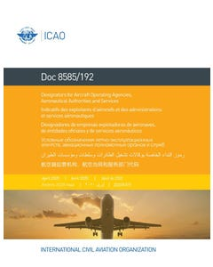 Designators for Aircraft Operating Agencies, Aeronautical Authorities and Services (Doc 8585/192)