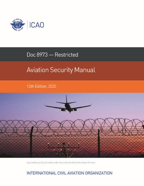 Aviation Security Manual (Doc 8973 - Restricted)