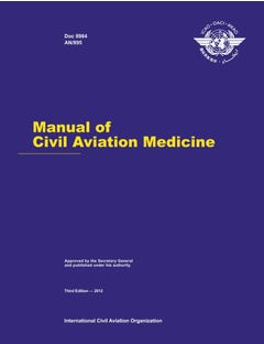 Manual of Civil Aviation Medicine (Doc 8984)