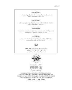 Convention on the Marking of Plastic Explosives for the Purpose of Detection  (Doc 9571)