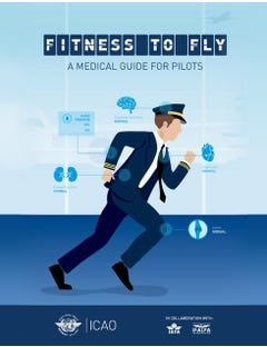 Fitness to Fly - A  Medical Guide for Pilots