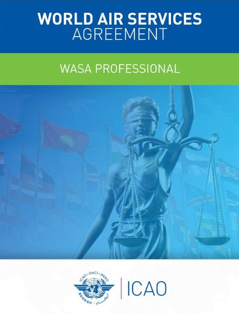World Air Services Agreement - (WASA Professional) - Online