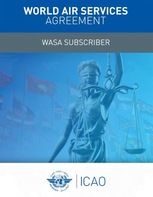 World Air Services Agreement - (WASA Subscriber) - Online