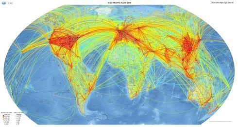 Traffic Flow Global Data (Shape File)