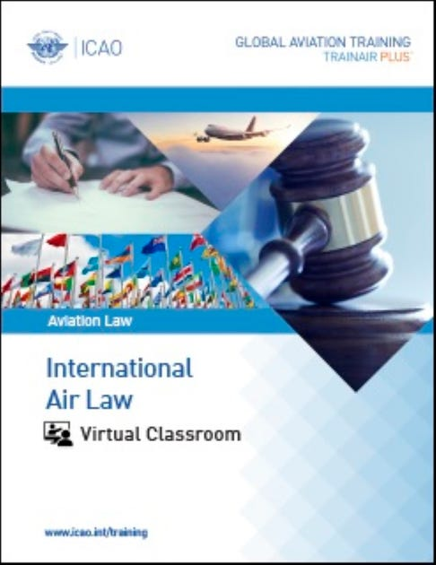 International Air Law Course - Virtual Classroom