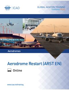 Aerodrome Restart (ARST): Online