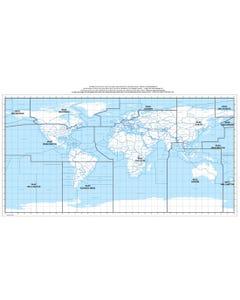 ICAO Volcanic Ash Advisory Centers  - ICAO Regions